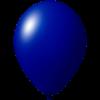 Impresión de globos   Ø 33 cm    Económico   9485951 azul oscuro