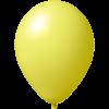 Impresión de globos   Ø 33 cm    Económico   9485951 amarillo claro