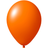 Impresión de globos   Ø 33 cm    Económico   9485951 naranja