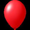 Impresión de globos   Ø 33 cm    Económico   9485951 rojo