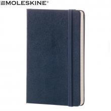 Libreta Moleskine   Grande   13 x 21 cm   Páginas alineadas   9210715102 Marino