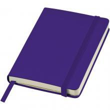 Clásico cuaderno de bolsillo de formato A6 | 92106180 Morado