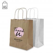 Bolsas de papel | A5 | Impresión 1 - 4 colores
