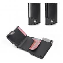 Tarjetero RFID | Billetera | Aspecto de cuero PU