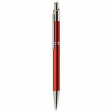 Bolígrafos Tiko | Metálicos | Tinta azul | max039 Rojo