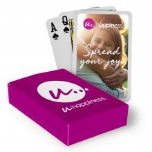 Juego de cartas a todo color | Incluye una caja con impresión | Rápido