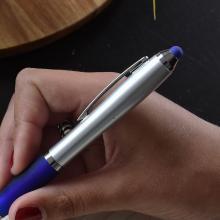 Bolígrafos Stylus | Tinta azul | Plástico | max038