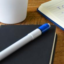 Cuaderno de tacto suave (A6) | 100 páginas alineadas | Proceso cuatro colores | 8032889FC