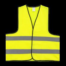 Chaleco de seguridad | M y XL | Amarillo o Naranja | 204710 Amarillo fluorescente
