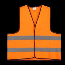 Chaleco de seguridad | M y XL | Amarillo o Naranja | 204710 Naranja fluorescente