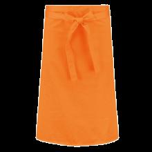 Delantal corto  Poliéster/Algodón   a partir de 25 uds.   205210vk Naranja