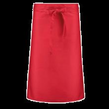 Delantal corto  Poliéster/Algodón   a partir de 25 uds.   205210vk Rojo