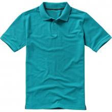 Polos para señores | 200 gramos de algodón | 9238080 Azul aguamarina
