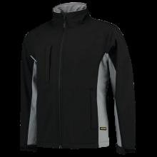 Chaqueta Soft Shell | Bicolor | Tricorp Workwear | 97TJ2000 Negro / Gris