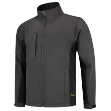 Chaqueta Soft Shell | Bicolor | Tricorp Workwear | 97TJ2000 Gris oscuro / Negro