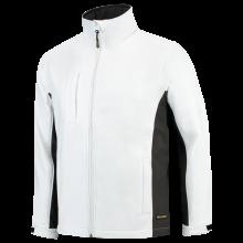 Chaqueta Soft Shell | Bicolor | Tricorp Workwear | 97TJ2000 Blanco / Gris oscuro