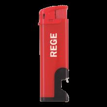 Encendedor electrónico   Con descalcificador   Recargable   72420632 Rojo