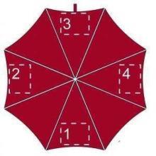 Paraguas de colores | Automático | 103 cm | Maxb036