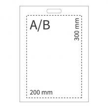 Bolsas de plástico | A4 | Impresión 35 x 25 cm | 108PS07