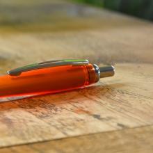 Bolígrafos con detalles plateados | A todo color | Max0011
