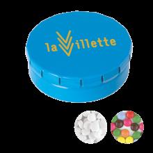Lata de caramelos de click-clack | 72501120 Azul claro
