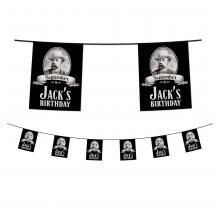 Guirlanda de banderines de 5 metros | Plastico | 941521vlaglijn