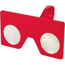 Gafas virtuales mini con cierre de clip | 92134221 Rojo