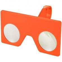 Gafas virtuales mini con cierre de clip | 92134221 Naranja