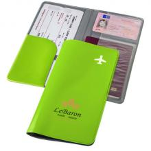 Portadocumentos de viaje | Bolsillo para documentos | PVC