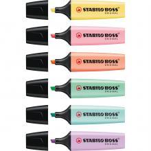 Stabilo original. Colores pastel | 12814070P