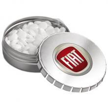 Lata de caramelos comprimidos de menta | Apertura Click-Clack | Entrega rápida