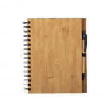 Set de libreta y bolígrafo | A5 | Bambú