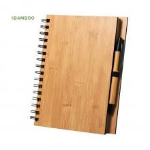Set de libreta y bolígrafo | A5 | Bambú | 156401