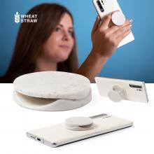 Soporte para teléfono inteligente plegable | Paja de trigo