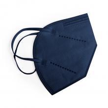 Mascarillas FFP2 gris o azul | Filtración >94% | Sin personalizar | max170 Azul oscuro