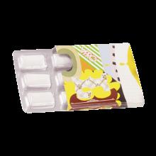 Goma de mascar   Paquete con 6 unidades