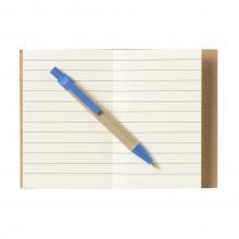 Cuadernos de materiales reciclados   A7   Con bolígrafo   733640