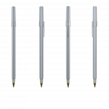 Bolígrafo Bic Round Stic | 771010 Metal
