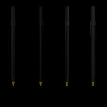 Bolígrafo Bic Round Stic | 771010 Negro