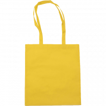 Bolsas de compras | Asas largas | Material no Tejido | max145 Amarillo