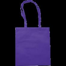 Bolsas de compras | Asas largas | Material no Tejido | max145 Morado