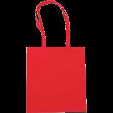 Bolsas de compras | Asas largas | Material no Tejido | max145 Rojo