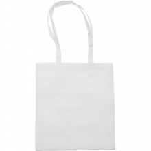 Bolsas de compras | Asas largas | Material no Tejido | max145 Blanco