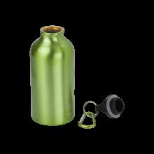 Botella de aluminio | 400 ml | Mosquetón | max141