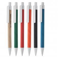 Bolígrafos ECO | Plástico + cartón reciclado