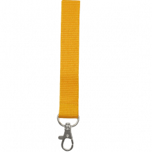 Lanyards acolchados | Poliéster | 15 mm | 87315mm1 Amarillo