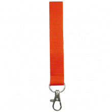 Lanyards acolchados | Poliéster | 15 mm | 87315mm1 Naranja