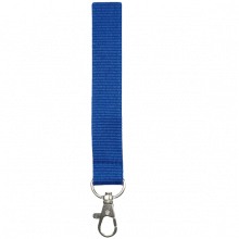 Lanyards | 25 mm | Poliéster | 87325mm1 Azul
