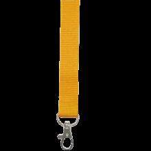 Lanyards | 25 mm | Poliéster | 87325mm1 Amarillo