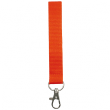 Lanyards | 25 mm | Poliéster | 87325mm1 Naranja